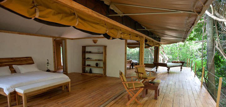 Meru National Park  Accommodation Lodges,  Hotels, Leopard Rock Lodge, Rhino River Camp, Elsa's Kopje, Bwatherongi, Kina, Murera, Bandas, Camping, Campsites